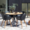 Kép 4/4 - 28465 kerti szék fekete