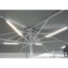 Kép 2/8 - Leonardo Aluminium  vázas napernyő  4 x 6 m