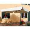 Kép 3/6 - Riviera Lusso favázas napernyő 3 x 3 m