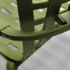 Kép 6/7 - Nardi Folio kerti műanyag rakásolható szék agave zöld színben