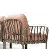 Kép 2/2 - Nardi Komodo moduláris háttámla fotelhez vagy kanapéhoz