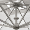 Kép 2/6 - Fellini Aluminium vázas nagyméretű napernyő V verzió 3 x 8 m