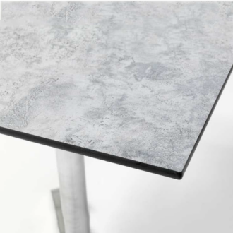 HPL kültéri asztallap 120x70 cm