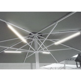 Leonardo Aluminium  vázas napernyő  4 x 7 m