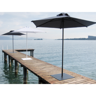Ocean aluminium  vázas napernyő  2 x 3 m