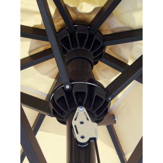 Petrarca aluminium  vázas napernyő  3 x 4