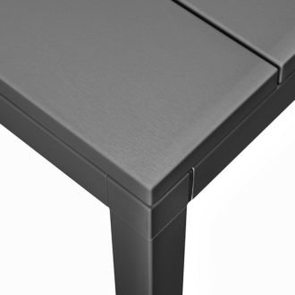 Nardi Rio 210-280cm bővíthető kerti asztal antracit szürke