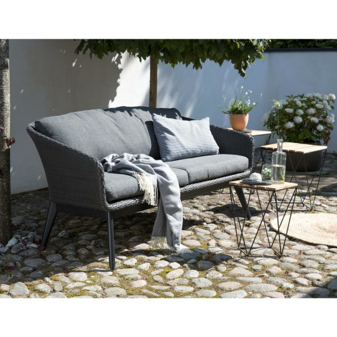 Bellevue műrattan kerti kanapé