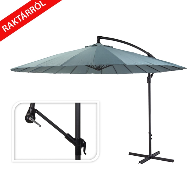 Konrad, oldalkaros, napernyő, 300cm