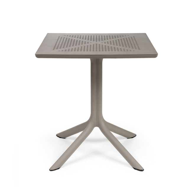 Nardi Clip 70 galamb szürke kerti asztal