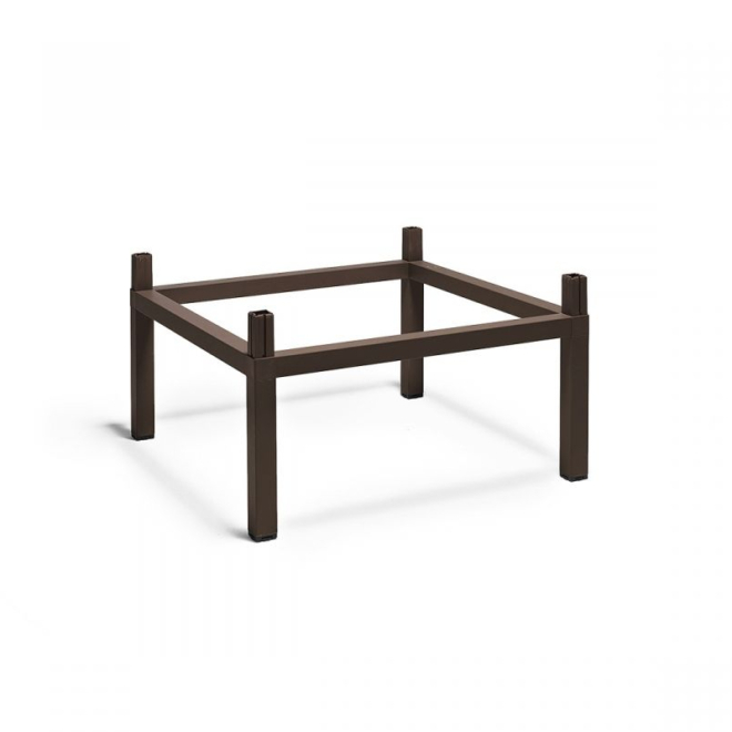 Nardi Kit Cube emelő készlet 80x80 cm kültéri asztalhoz kávé barna
