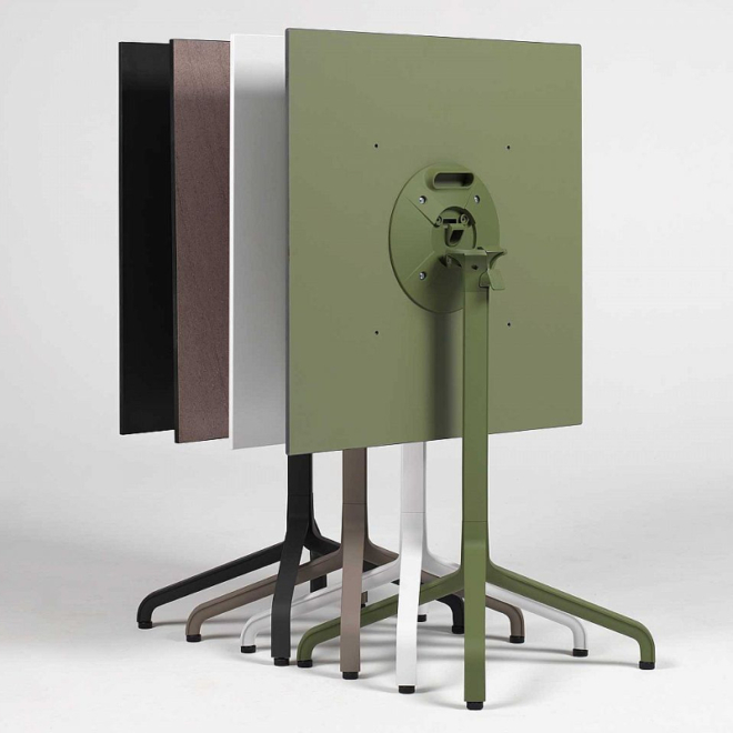 Nardi HPL 80x80cm asztallap több színben
