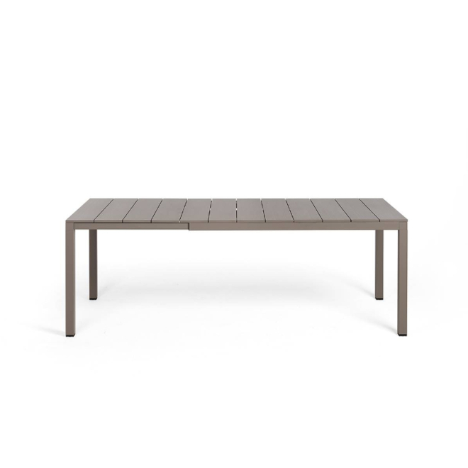 Nardi Rio Alu 140-210 cm bővíthető kerti asztal galamb szürke