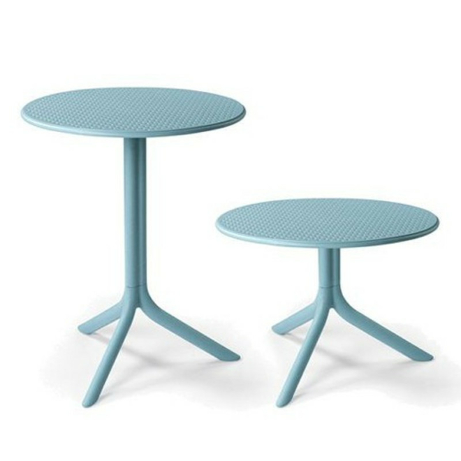 Nardi Step vagy Step mini ég-kék kerti asztal