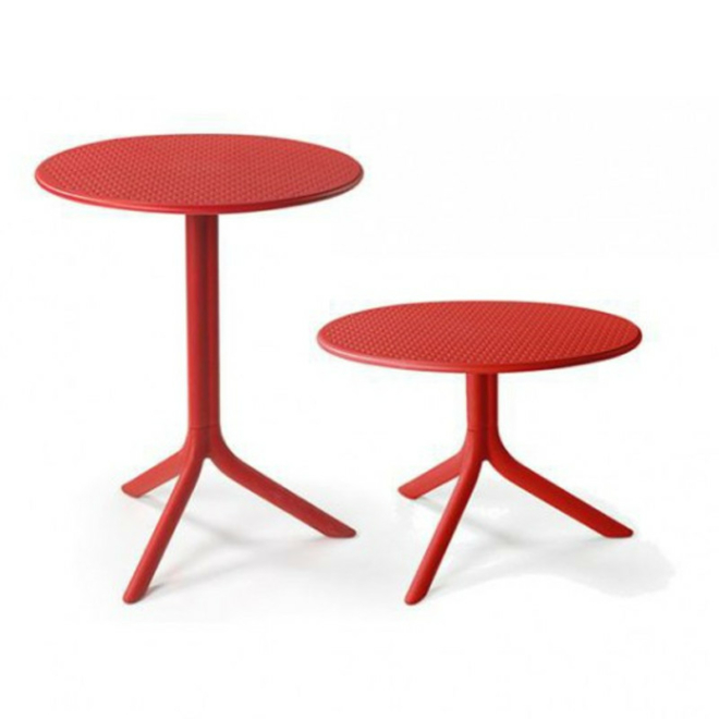 Nardi Step vagy Step mini piros kerti asztal