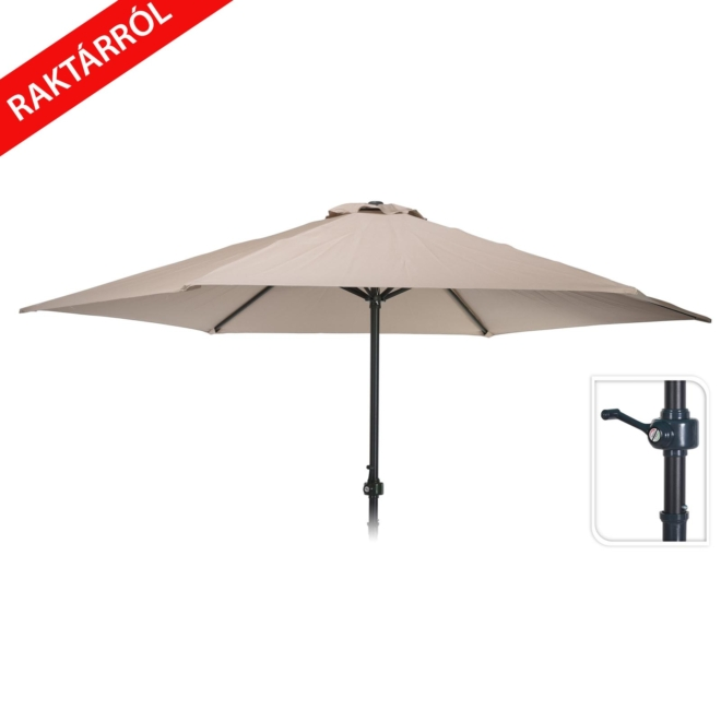 Tucci oldalkaros napernyő 250cm