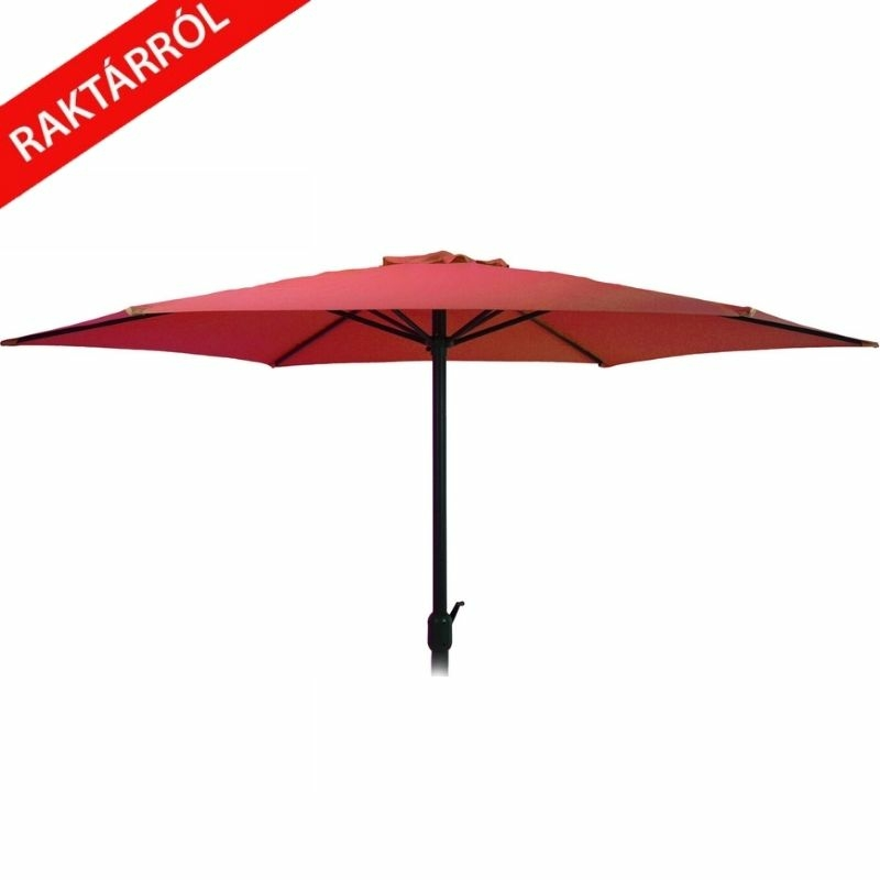 Wave napernyő piros 270 cm