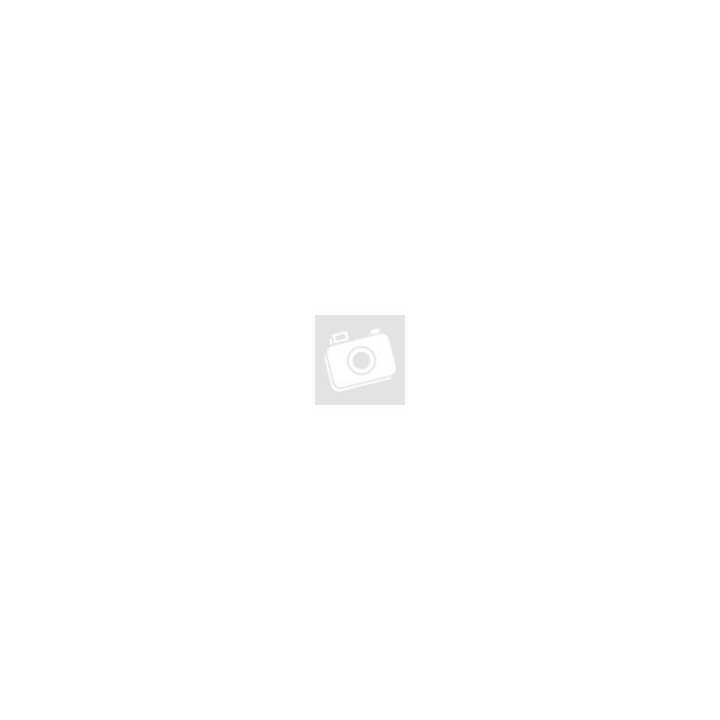 KALEA fehér függő fotel virágmintás párnával