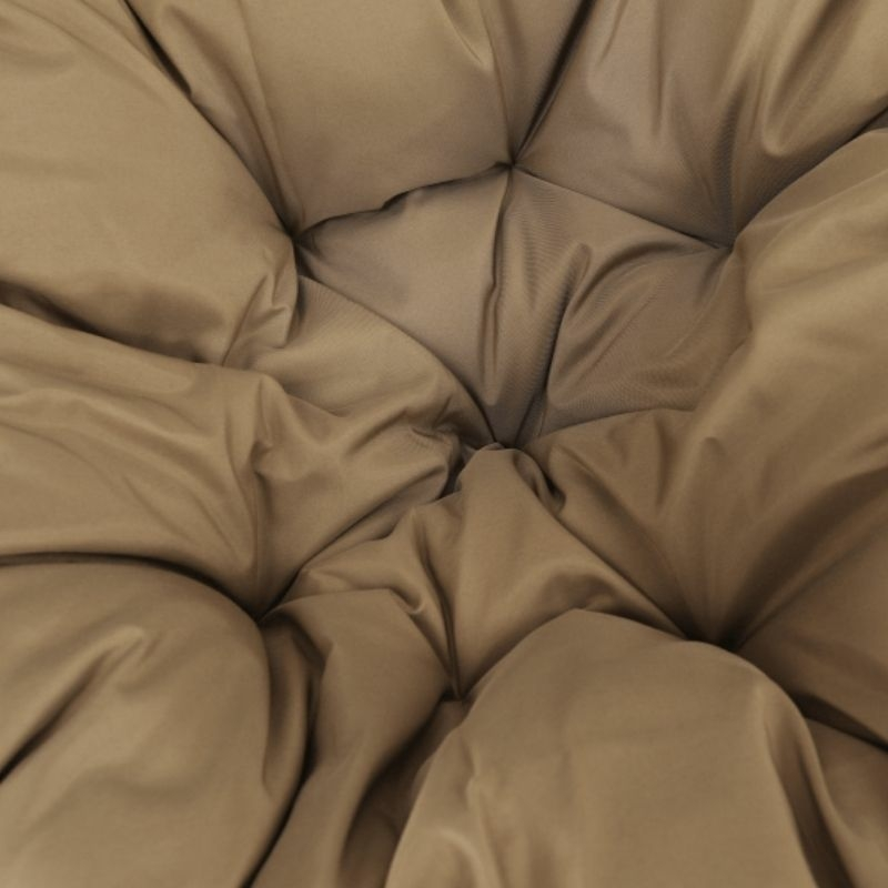TRISS barna forgófotel fekete/bézs párnával