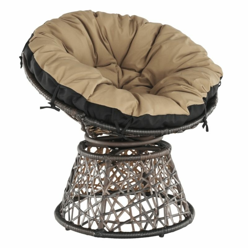 Barna kültéri fotel