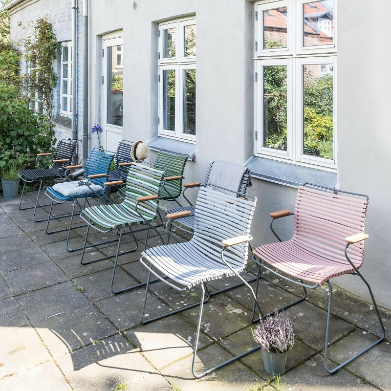 28404 kerti szék szürke