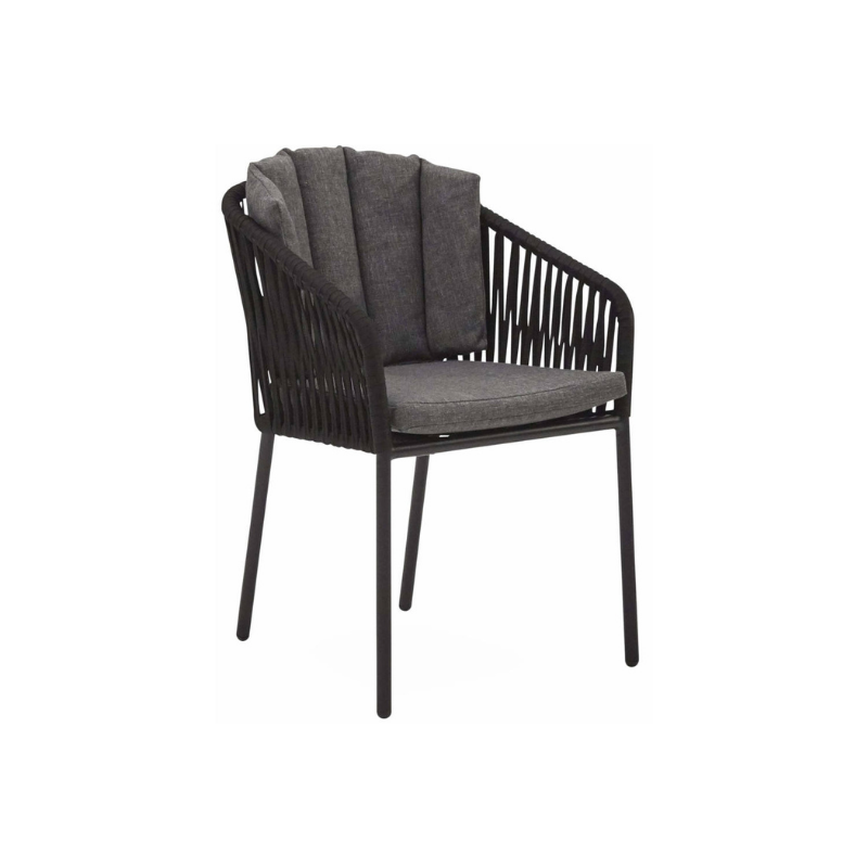 28462 kerti szék fekete