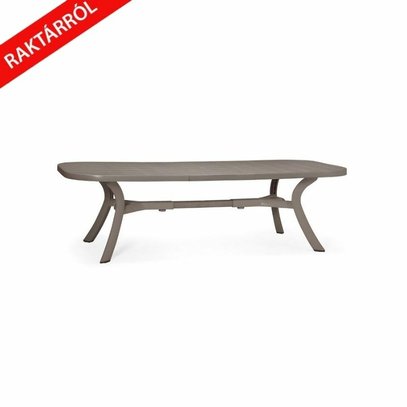 Nardi Toscana 192-250x105 cm bővíthető kerti asztal galamb szürke