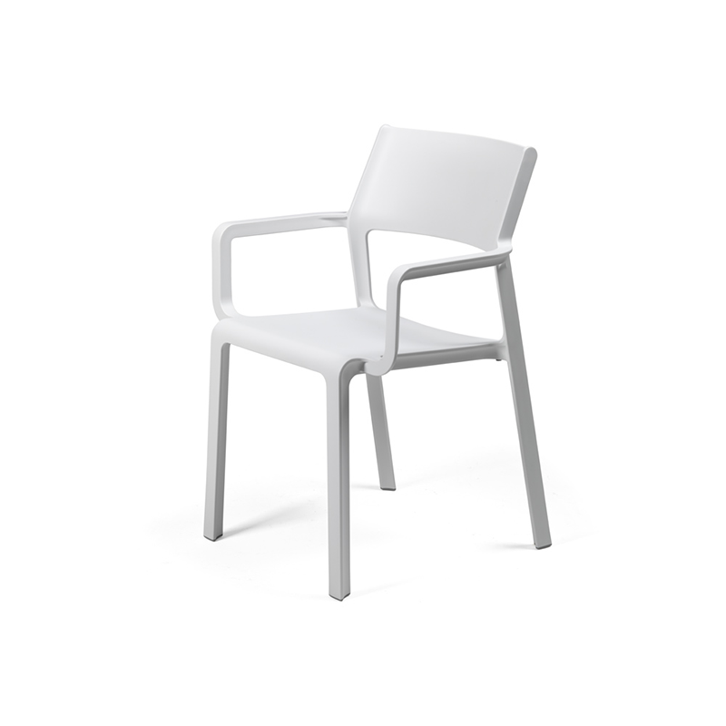 Nardi Trill fehér kültéri karos szék