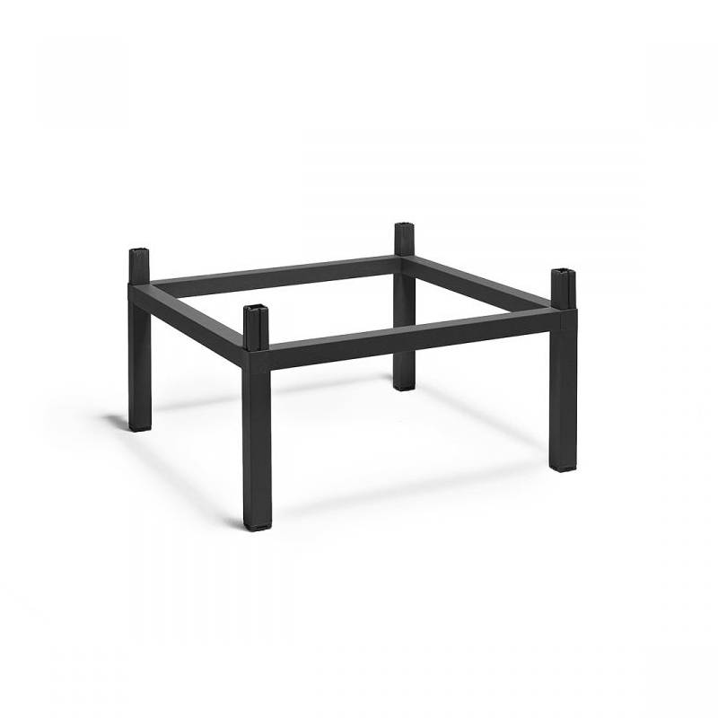 Nardi Kit Cube emelő készlet 80x80 cm kültéri asztalhoz antracit szürke
